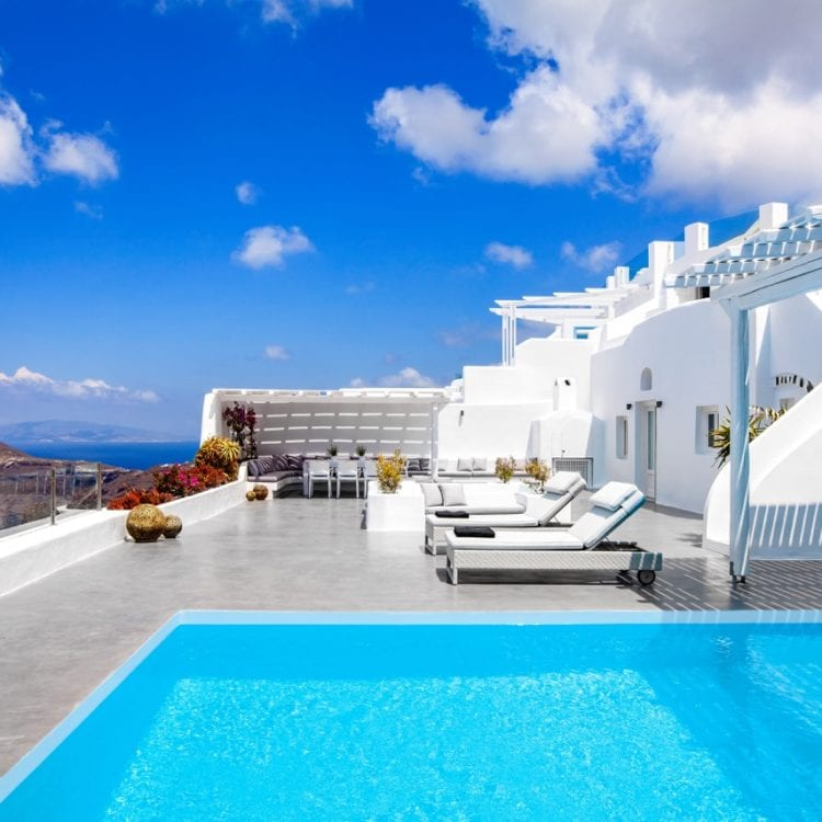 Luxury Private Villa in Santorini
