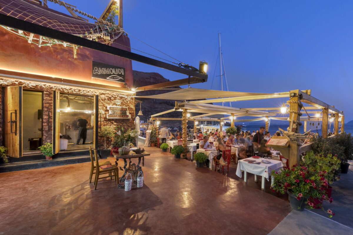 The best restaurants in Santorini